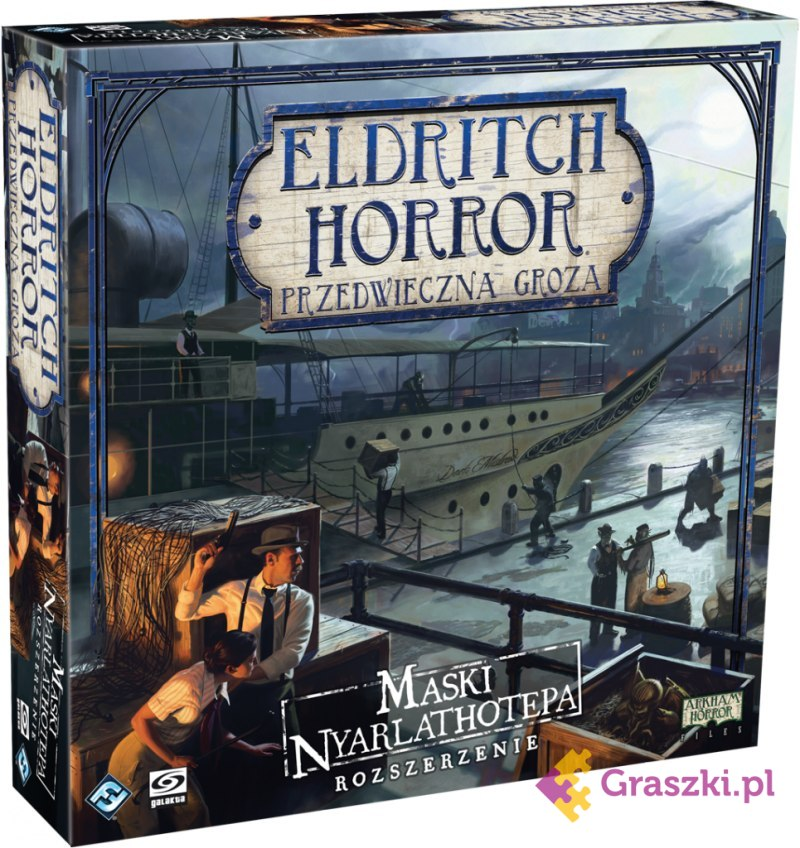 Eldritch Horror: Przedwieczna groza - Maski Nyarlathotepa | Galakta